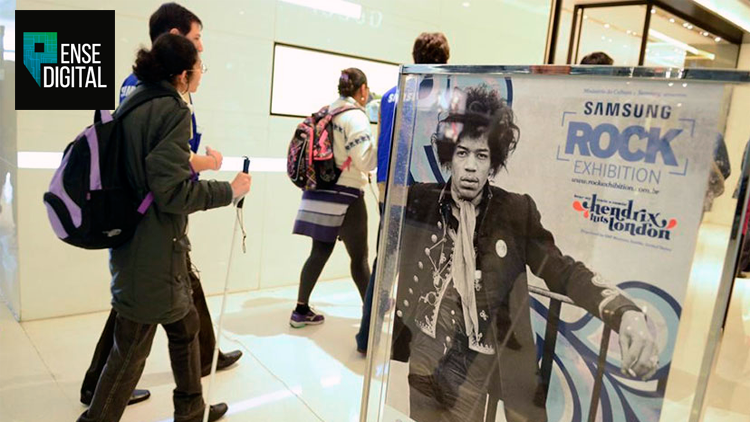 Samsung Rock Exhibition.