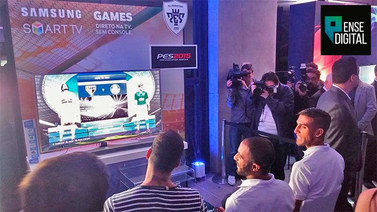 Samsung em parceria com a Gamefly lança pacote de jogos para Tvs.