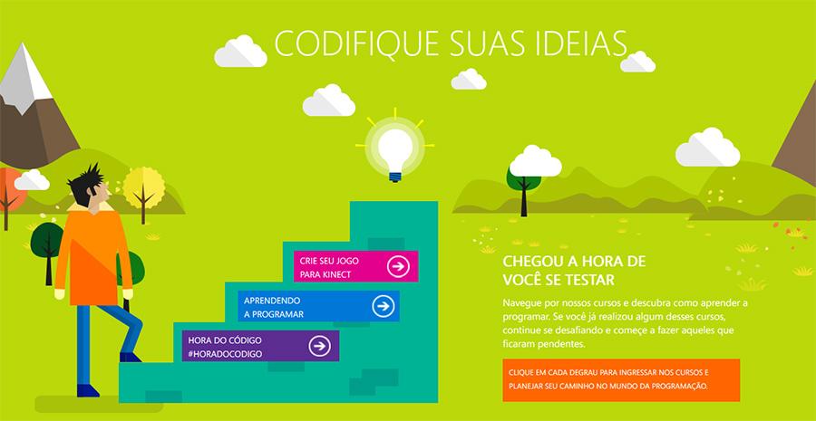 Microsoft oferece curso de programação gratuita